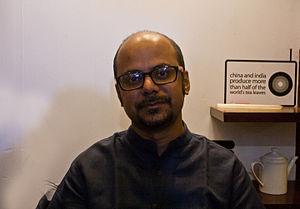 Srijato - Srijato at Oxford Book Store, Kolkata  for the Apeejay Bangla Sahitya Utsob 2015.