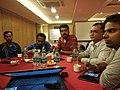 Bengali Wikisource meetup in Kolkata 2018.jpg