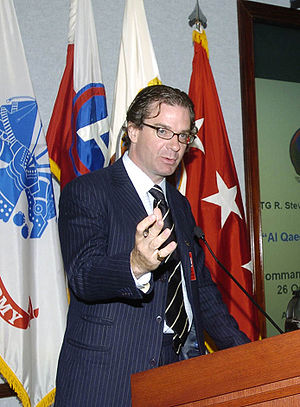 Peter Bergen - Bergen during a seminar in 2007