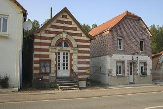 Berles-Monchel - The town hall of Berles