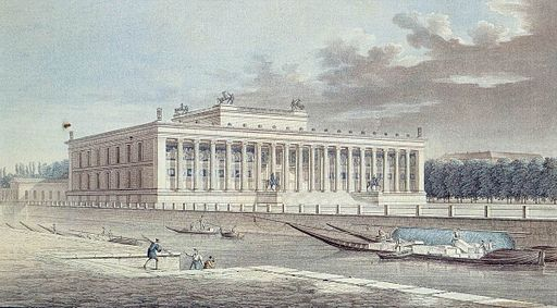 Berlin Altes Museum Friedrich Thiele 1830
