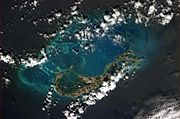 Bermuda from ISS