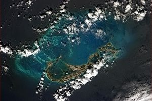 Bermuda - Bermuda pictured from the International Space Station