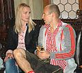 Bernadine und Arjen Robben 2656.jpg