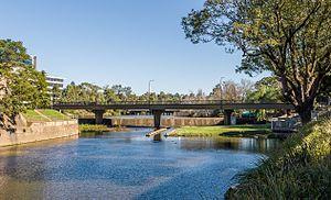 Bernie Banton Bridge - Image: Bernie Banton Bridge (Marsden Street) (30181648790)