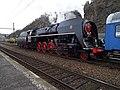 Beroun, Křivoklát expres (2014-12-13), lokomotiva (03).jpg