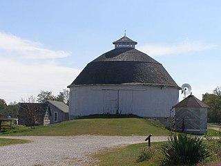 Bert Leedy Round Barn