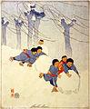 Bertha Boynton Lum, Snow balls, ca. 1913.jpg