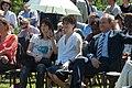 Bertrand Delanoë, Jane Birkin, Charlotte Gainsbourg 1.jpg