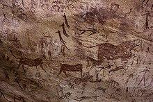 в наскальные каменном веки рисунки