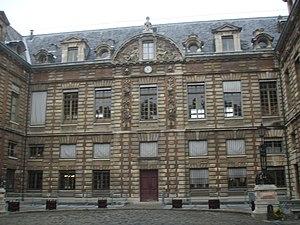 Rue de Richelieu - La Bibliothèque nationale, 58 rue de Richelieu
