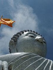 Big Buddha in Phuket. October 2011