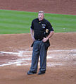 Bill Miller umpires at Minute Maid in Sept 2013.jpg
