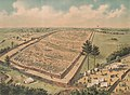 Bird's-eye view of Andersonville Prison from the south-east LCCN2003662987 (cropped).jpg