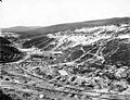 Bird's-eye view of mining operations at Cheechako Hill and Gold Hill, probably 1900 (AL+CA 8026).jpg