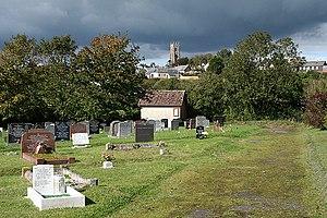 Bishop's Nympton - Bishop's Nympton: cemetery.