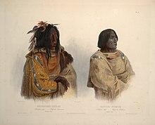 CRNE STOPE  (Blackfoot ) indijanci  220px-Blackfoot_chief_and_Peikann_chief_0078v