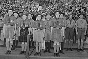 Blitz Scouts in 1942.