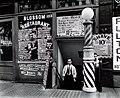 Blossom Restaurant; 103 Bowery by Berenice Abbott in 1935.jpg