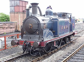 Balerno line - Locomotive No419 in the possession of The Scottish Railway Preservation Society