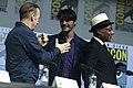Bob Odenkirk, RJ Mitte & Giancarlo Esposito (28716824487).jpg