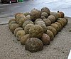 Stone balls used in the Siege of Algeciras (1342–44)