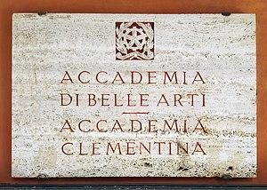 Accademia di Belle Arti di Bologna - Image: Bologna — Accademia di Belle Arti di Bologna (segno)