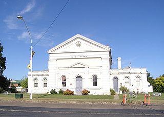 Boorowa Suburb of Hilltops Council, New South Wales, Australia