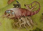 Bosch, Hieronymus - The Garden of Earthly Delights, central panel - Detail lobster shell.jpg