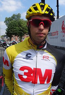 Jimmy Janssens Belgian bicycle racer