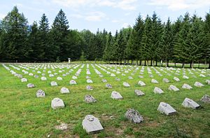 Bovec - World War I military cemetery