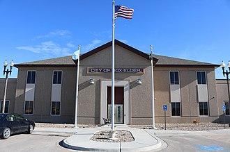 Box Elder, South Dakota - City Hall.