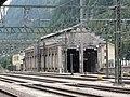 Bozen-Bolzano Hauptbahnhof, alter Lokschuppen.jpg
