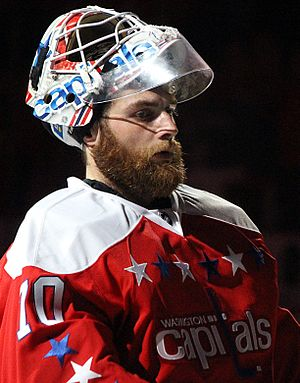 Braden Holtby - Holtby with the Capitals in 2016.