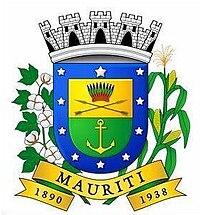Resultado de imagem para brasão mauriti