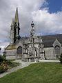 Brasparts (29) Enclos paroissial Église Extérieur 05.JPG