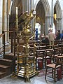 Brass Lectern, Truro Cathedral - geograph.org.uk - 2611792.jpg