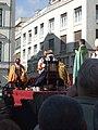 Bratislavské korunovačné slávnosti 2010 - Kráľ Ferdinand III. a jeho manželka Mária Anna Španielska (herci F. Tuma a I. Surovcová).jpg