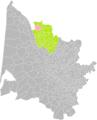 Braud-et-Saint-Louis (Gironde) dans son Arrondissement.png