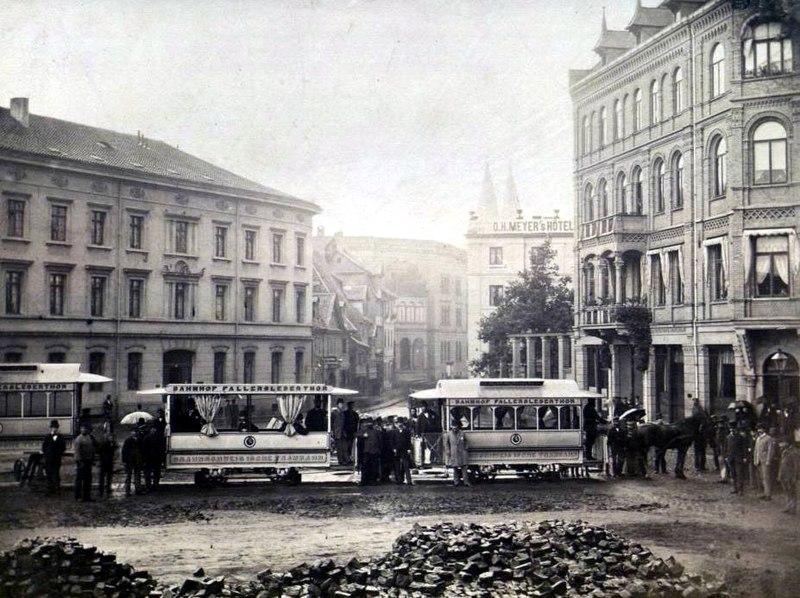 Die Straßenbahn Braunschweig  800px-Braunschweig_Pferdebahn_1879