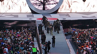 Bray Wyatt - Wyatt's entrance at WrestleMania 31
