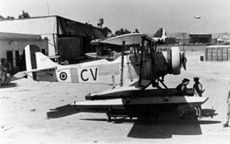 Breda Ba.25 - Ba.25 in single-seat seaplane configuration.