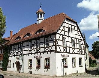 Brehna - Image: Brehna Altes Rathaus