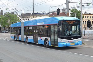 Trolleybuses in Arnhem - Image: Breng 5243, Arnhem station