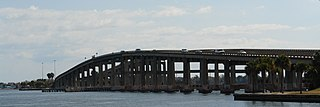 Merritt Island Causeway Bridge in Florida, United States of America