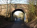 Bridge over the Lune Cycle Way - geograph.org.uk - 1718319.jpg