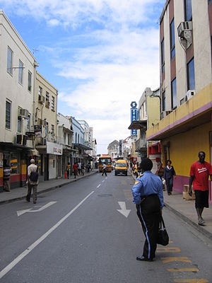 Swan Street, one of the main shopping streets ...