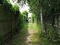 Bridleway gate onto South Road - geograph.org.uk - 1389945.jpg