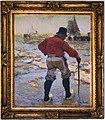 Briefträger im Wattenmeer, Maler- Hans von Bartels .jpg