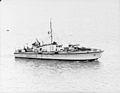 Britain's Motor Gun Boats. 8 December 1942, Beehive Naval Base, Harwich, Motor Gun Boats of Light Coastal Forces. A13631.jpg